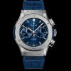 Hublot Blue Chronograph Titanium 521.NX.7170.LR 45MM