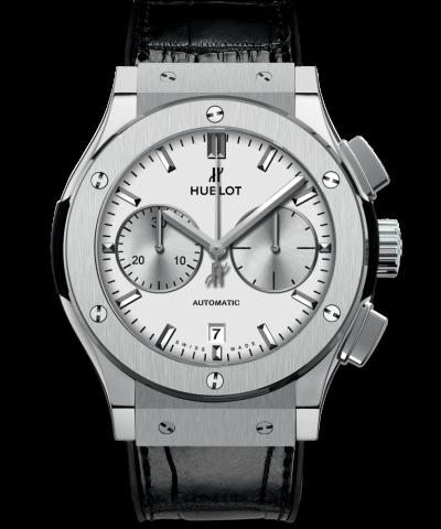 Hublot Chronograph Titanium Opalin 521.NX.2611.LR 45MM