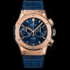Hublot Classic Fusion Blue Chronograph King Gold 521.OX.7180.LR 45MM