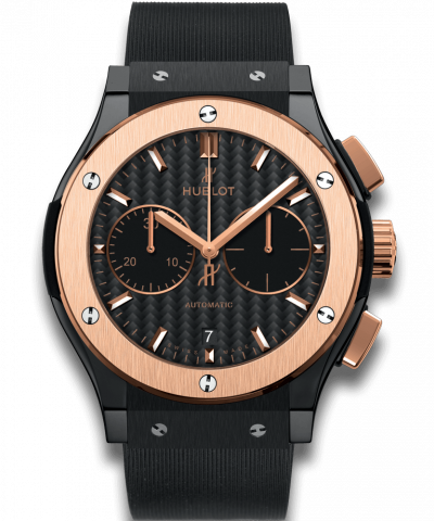 Hublot Classic Fusion Chronograph Ceramic King Gold 45MM