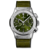 Hublot Classic Fusion Chronograph Titanium Green 521.NX.8970.LR 45MM