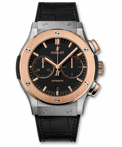 Hublot Classic Fusion Chronograph Titanium King Gold 521.NO.1181.LR 45MM