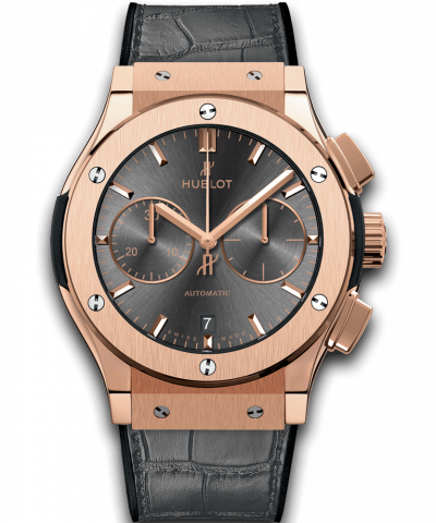 Hublot Classic Fusion Racing Grey Chronograph King Gold 45MM