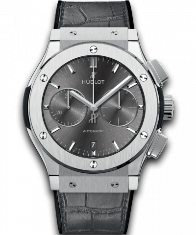 Hublot Racing Grey Chronograph Titanium 521.NX.7071.LR 45MM